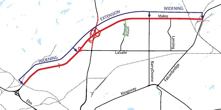 Extension Widening Map