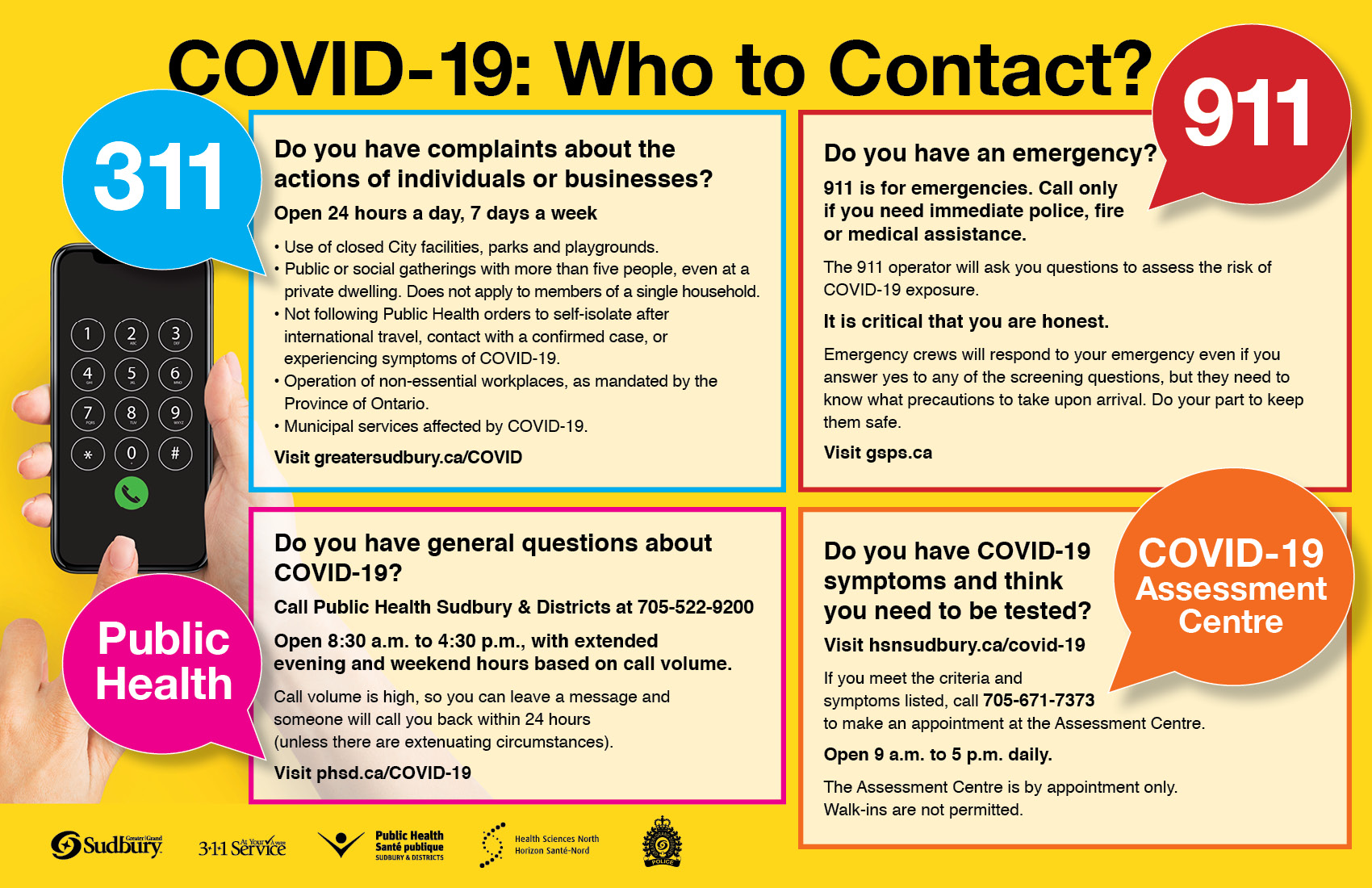 COVID-19: Who to Contact?