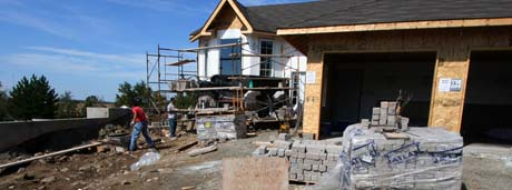 picture of new home construction