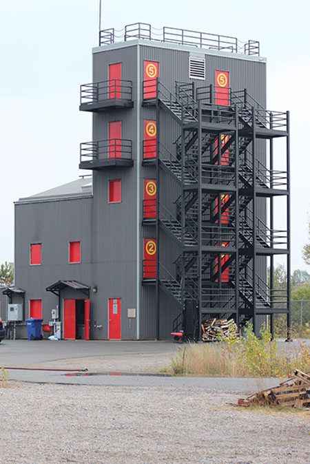 Training Tower for Fire Services.