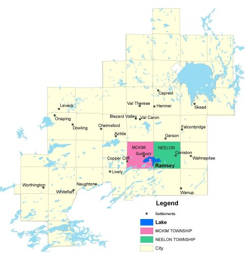 Township watershed and bathymetric maps