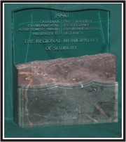 1990 Government of Canada Environmental Achievement Award