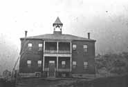 Brown School.  Photo courtesy of the Greater Sudbury Historical Database.